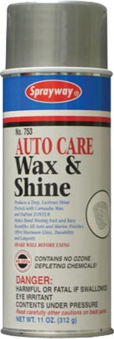 Sprayway 753 11 oz. Wax & Shine