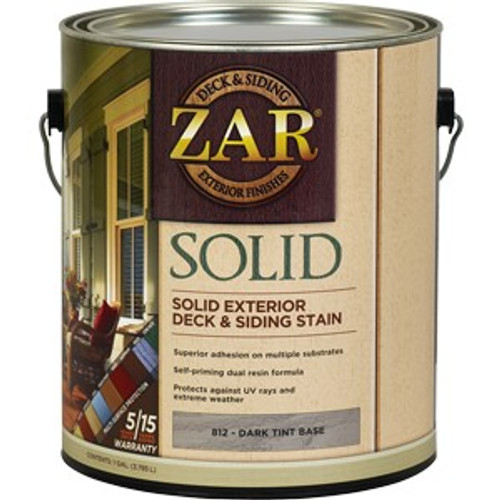 Zar 81213 1G Dark Tint Base Solid Color Stain