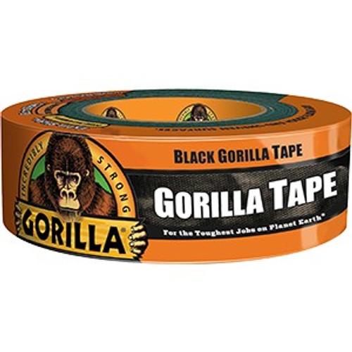 """Gorilla Glue 6035060 1.88"""" x 35Yd Black Gorilla Tape"""