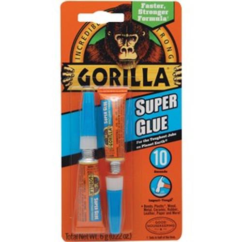 Gorilla Glue 7800109 3 Gram Gorilla Glue Super Glue 2Pk