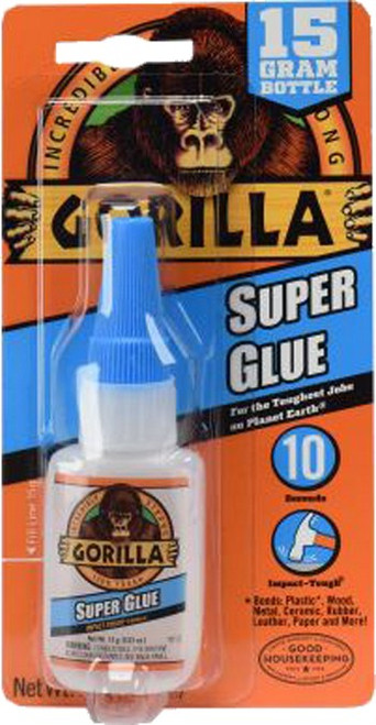 Gorilla Glue 7805009 15GM Gorilla Glue Super Glue