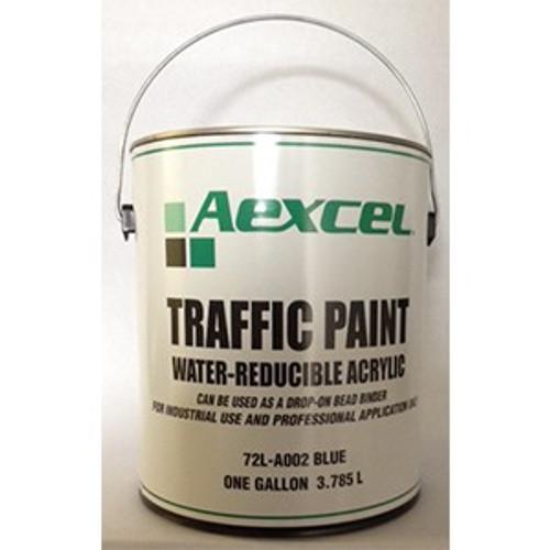 Aexcel 72LA002 1G WB Blue Traffic Paint Fast Dry