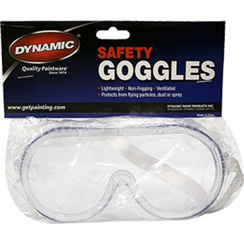 Dynamic AH002600 Safety Goggles