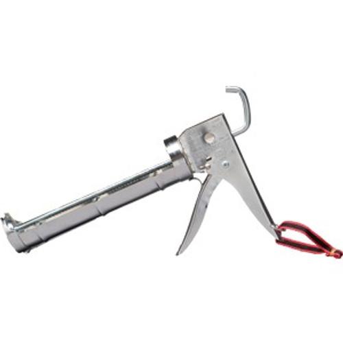 Dripless CC200 10 oz. Chrome Ratchet Rod 6:1 Ratio Caulking Gun