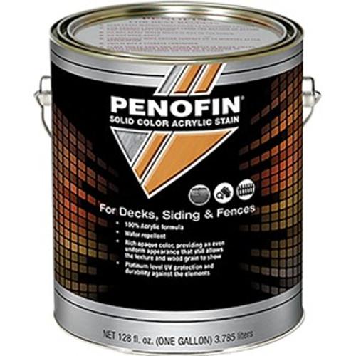 Penofin F1SBMGA 1G Medium Base Solid Acrylic Deck & Siding Stain Low VOC