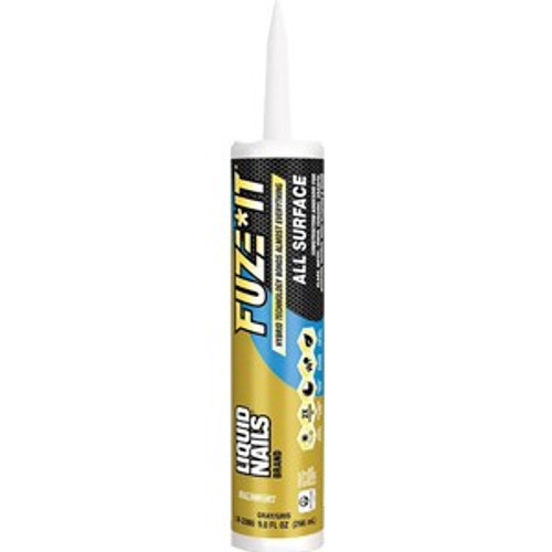 Liquid Nails LN-2000 Fuze It! 9oz All Surface Adhesive