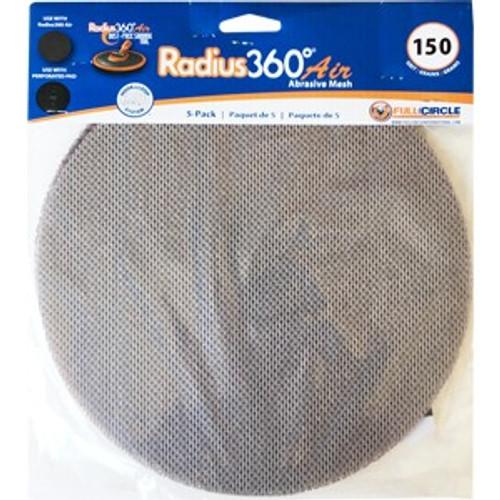 FCI MESH SD150-5 Mesh Abrasive for Radiud360 Air 150 Grit 5Pk