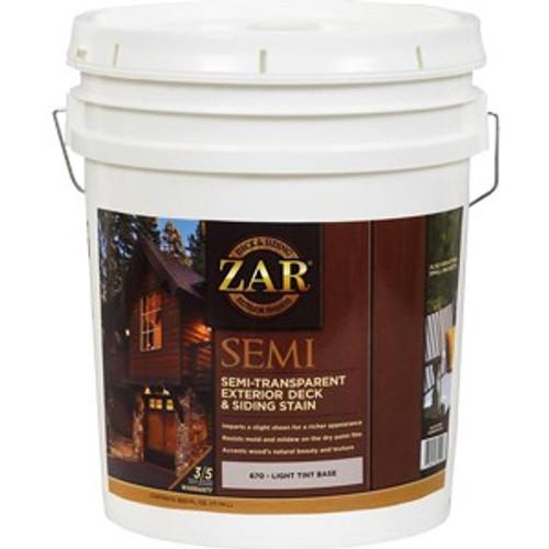 Zar 67015 5G Light Base Semi-Trans Deck & Siding Stain