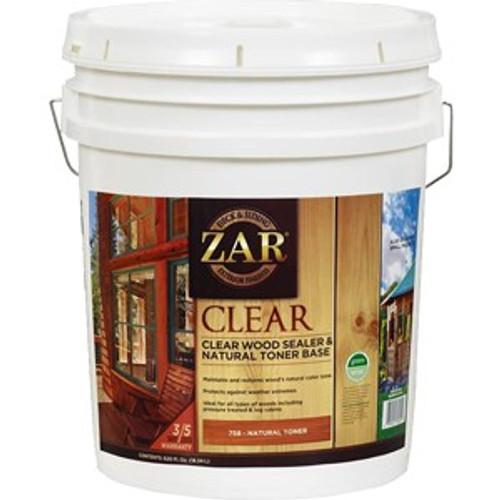 Zar 75815 5G Clear Wood Sealer & Natural Toner Base