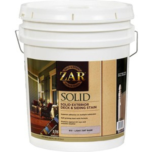 Zar 81015 5G Light Tint Base Solid Color Stain