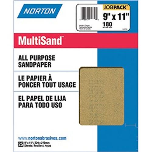 "Norton 00355 9"" x 11"" 180A Multisand 25Pk"