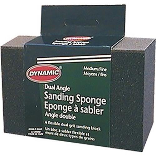 Dynamic AG662603 Medium/Fine Dual Angle Sanding Sponge