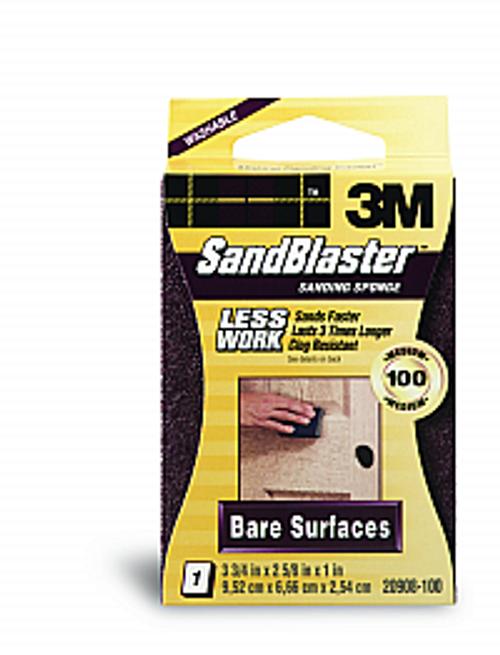3M 20908-100 100 GRIT SANDBLASTER SANDING BLOCKS