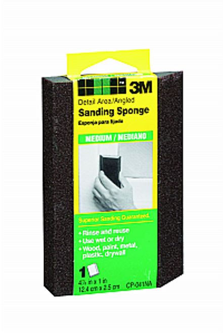 3M CP041-12-CC MEDIUM ANGLED SANDING SPONGE - 24ct. Case