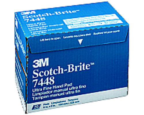 "3M 7448 6"" X 9"" SCOTCH-BRITE HAND PADS"