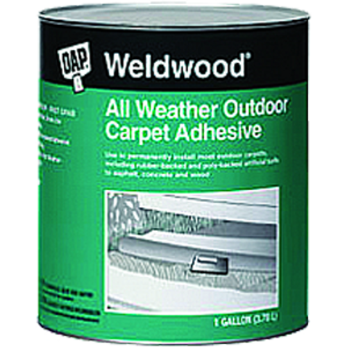DAP 00443 1G WELDWOOD OUTDOOR CARPET ADHESIVE