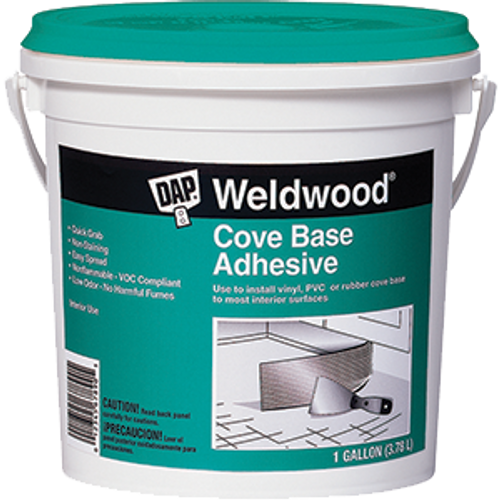 DAP 25054 1G WELDWOOD COVE BASE ADHESIVE