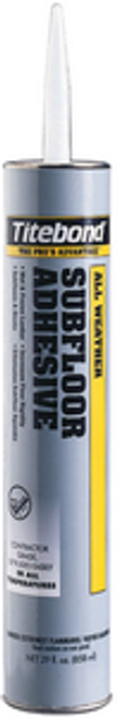 FRANKLIN 5492 29OZ ALL WEATHER SUBFLOOR ADHESIVE