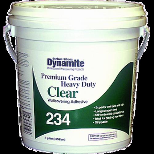 GARDNER GIBSON 7234-3-20 1G CLEAR DYNAMITE 234 HD PREMIUM GRADE WALLCOVER ADHESIVE