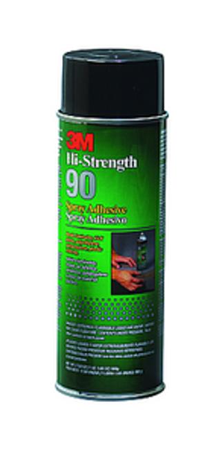 3M 90-24 24OZ (17.6OZ NET WT) HI-STRENGTH SPRAY ADHESIVE LOW VOC - 12ct. Case