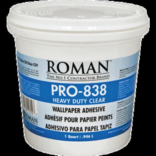 ROMAN PRO-838 QT CLEAR PRO 838 HEAVY DUTY