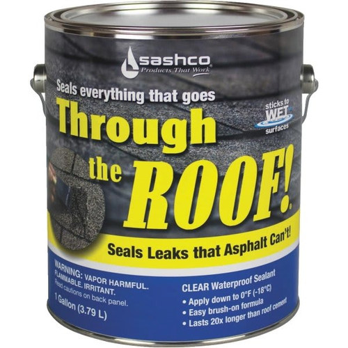SASHCO 14004 1G THROUGH THE ROOF - 2ct. Case