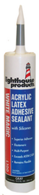 LIGHTHOUSE L100-53 10.5OZ GRAY WHITE MAGIC COLORED CAULK 45 YEAR