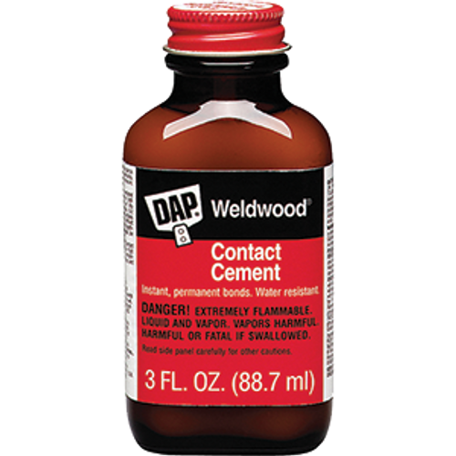 DAP 00107 3OZ WELDWOOD CONTACT CEMENT