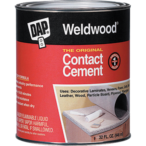 DAP 00272 QT ORIGINAL WELDWOOD CONTACT CEMENT