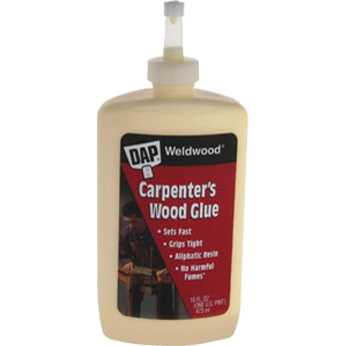 DAP 00491 16OZ WELDWOOD CARPENTER GLUE