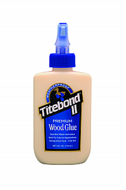 FRANKLIN 5002 4OZ TITEBOND II PREMIUM WOOD GLUE