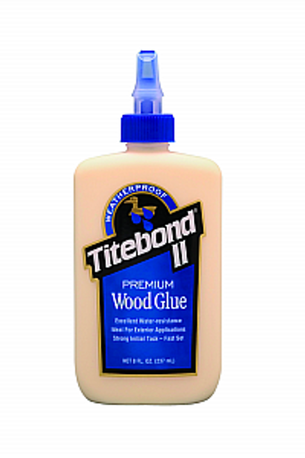 FRANKLIN 5003 8OZ TITEBOND II PREMIUM WOOD GLUE