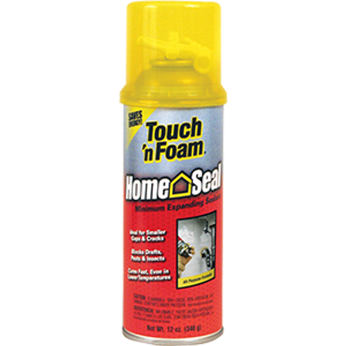 CONVENIENCE 4001012412 12OZ TOUCH N FOAM HOME SEAL MINIMAL EXPANSION INSULATING FOAM