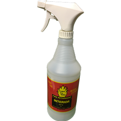 PROJECT FIRE SAFETY 702/032 32OZ SPRAY INTERIOR FIRE RETARDANT