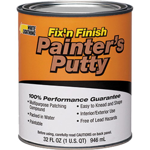WHITE LIGHTNING 08116 QT PAINTER'S PUTTY