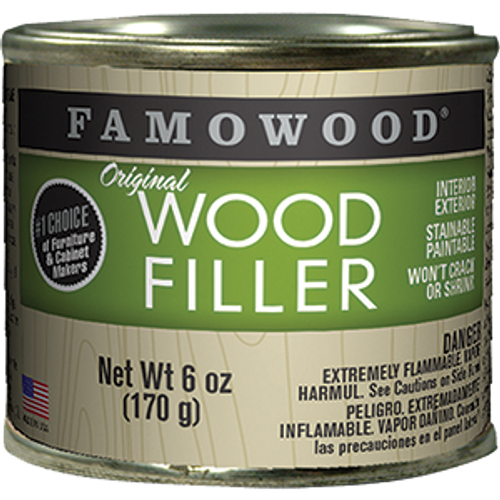 FAMOWOOD 36141102 .25PT ASH WOOD FILLER