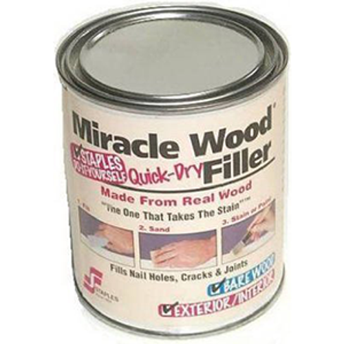 STAPLES 901 .25LB MIRACLE WOOD WOOD PATCH - 12ct. Case