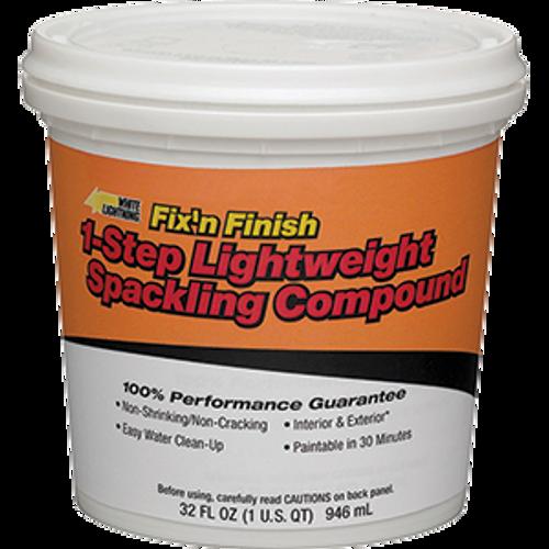 WHITE LIGHTNING WL60520 QT ONE STEP LIGHTWEIGHT SPACKLING