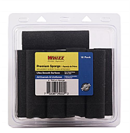 "WHIZZ 25002 4"" PREMIUM SPONGE ROLLER 10PK"