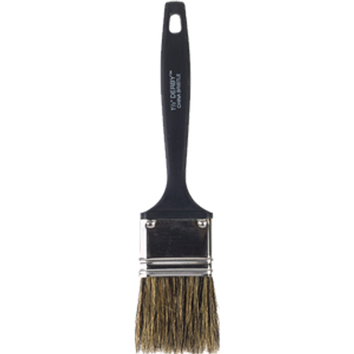 """WOOSTER 1113 1-1/2"""" DERBY GRAY CHINA BRISTLE FLAT PAINT BRUSH"""