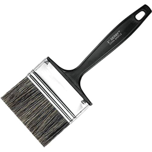 "WOOSTER 1113 3"" DERBY GRAY CHINA BRISTLE FLAT PAINT BRUSH"