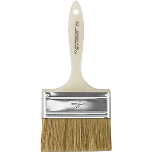 "WOOSTER 1147 4"" SOLVENT PROOF CHIP BRUSH"