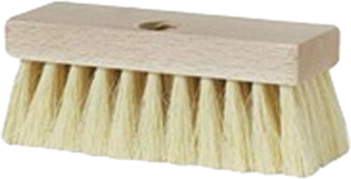 "DQB 11949 7"" TAMPICO ROOF BRUSH WITH THREADED HOLE - 6ct. Case"