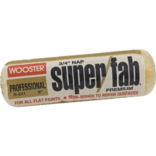 """WOOSTER R241 14"""" SUPER FAB 3/4"""" NAP ROLLER COVER"""