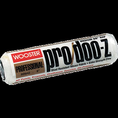 "WOOSTER RR642 9"" PRO DOO-Z 3/8"" NAP ROLLER COVER"