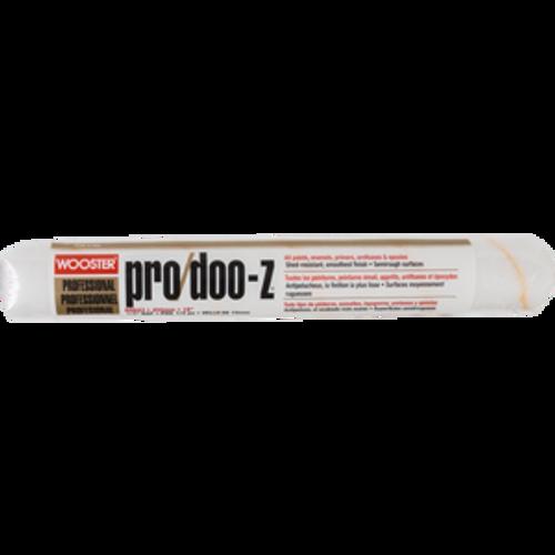 "WOOSTER RR643 18"" PRO DOO-Z 1/2"" NAP ROLLER COVER"