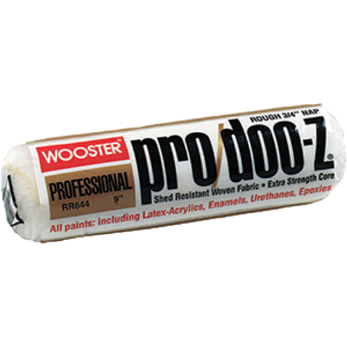 "WOOSTER RR643 9"" PRO DOO-Z 1/2"" NAP ROLLER COVER"