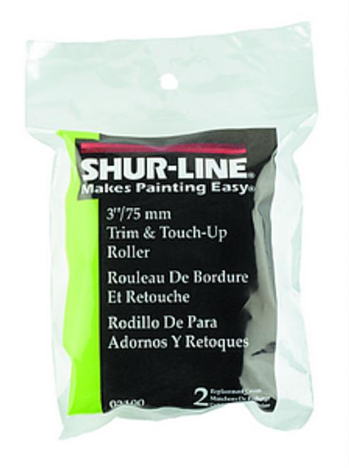 """SHURLINE 3100 3"""" TRIM ROLLER REFILLS 2PK"""