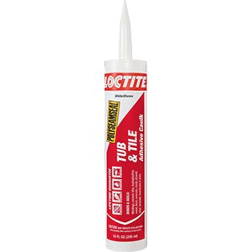 Loctite 1936464 10oz White 2 In 1 Paintable Tub And Tile Sealant (New Polyseamseal 2154739)