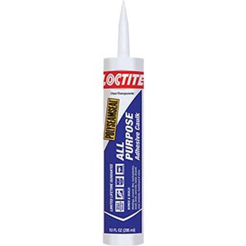Loctite 1936462 10oz Clear 2 In 1 All Purpose Paintable Adhesive Caulk (New Polyseamseal 2154740)